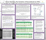 Green Chemistry: The Oxidation of Benzaldehyde Using Atmospheric Oxygen and N-heterocyclic Carbenes as Catalysts