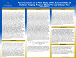 Power Analysis on a Pilot Study of the Caloric Intake of Children Helping Prepare Meals Versus Children Not