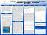The Effect of The Amount of Water and Water Exposure Time on the Absorbency of Sponges