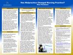 Has Malpractice Changed Nursing Practice?