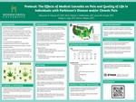 PROTOCOL: The Effects of Medical Cannabis on Pain and Quality of Life in Individuals with Parkinson's Disease and/or Chronic Pain by Hailey S. Inge, Jenna M. Hiryak, Patrick DeMichele, Olivia J. Meyer, and Maureen Pascal