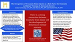 The Recognition of Traumatic Brain Injuries as a Risk Factor for Dementia in Military Veterans: A Systematic Review by Julie Maroni and Jessica M. Monday
