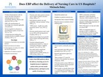 Does EBP affect the Delivery of Nursing Care in US Hospitals?