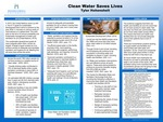Clean Water Saves Lives by Tyler Hohenshelt